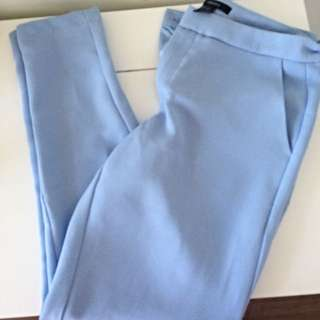 Forever 21 Baby Blue Pants