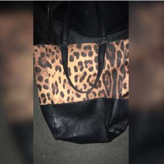 City Beach Leopard Bag