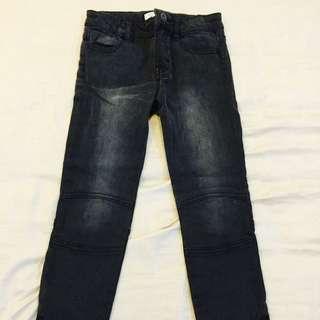 Dark Grey Skinny Jeans For Girl