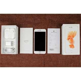 iphone6s ios9.0完美介面 1300萬畫數 指紋解鎖 高階四核 保固一年 16g