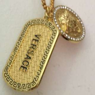 Luxury Replica Versace Gold Chain (100% Real Lookalike)