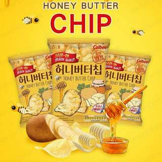 Korea Honey butter chip 60g