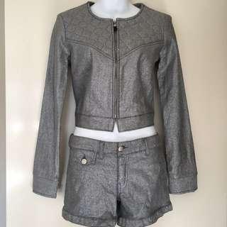 Bec & Bridge Designer Jacket And Shorts Size 8 BNWT