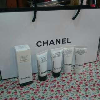 Chanel小樣  超美白精華液+保濕乳霜+導入精華