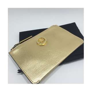 BRAND NEW WITH TAG BEAUTIFUL GOLD MIMCO SUPERSONICA POUCH RRP: 79.95