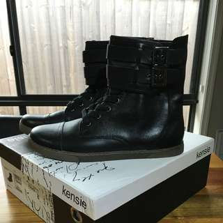 Kenzie Nikko Leather Boots