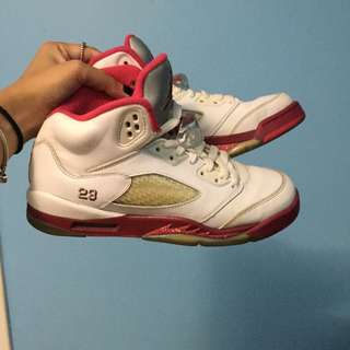 Jordans Scarlet 5's