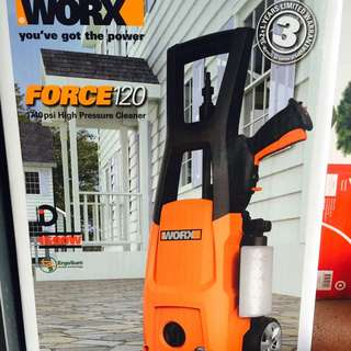WORX FORCE120 - HIGH PRESSURE CLEANER