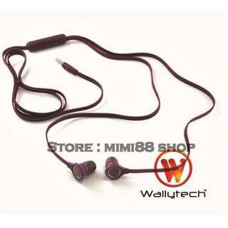 [BNIB]★Wallytech Earphone WHF-107 for Samsung Phone★