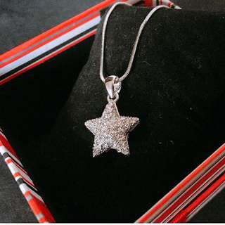 Lucky Star Pendants with Necklace