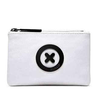 BRAND NEW WHITE MIMCO SUPERSONICA POUCH