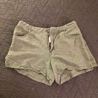 Baggy Green Shorts