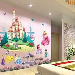 Disney Princess Wall Sticker Wall Decal