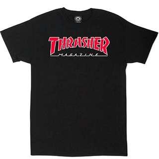 Thrasher Outlined Skate Mag Tee black Size M