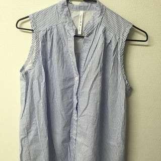 韓國製 長版襯衫