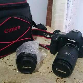 Canon EOS 60D With Lensa Tele