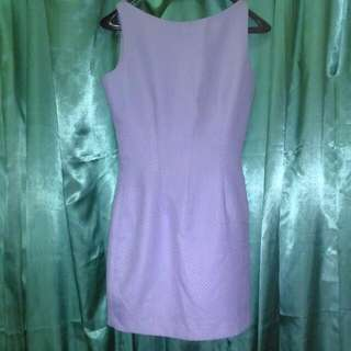 Reprice&Preloved Mini Dress Violet