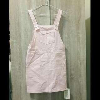 粉紅吊帶裙❣