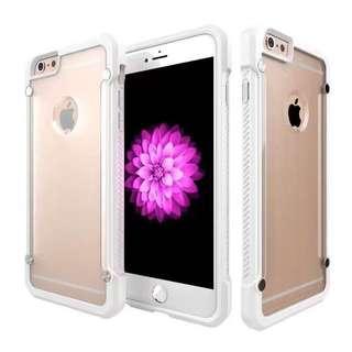 透明裸機視覺 加強邊框抗摔抗震 蘋果三星手機殼