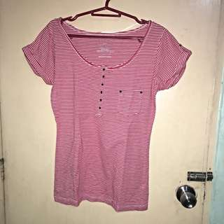 Preloved Penshoppe Red Top