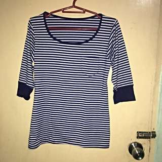 Preloved Unbranded Striped Top