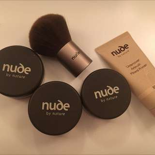 Nude By Nature Mineral Powder Set
