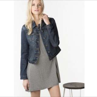Ardene Distressed Jean Jacket