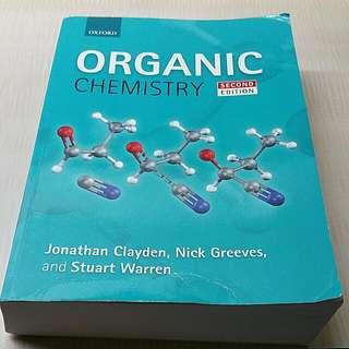 CM1121 & CM2121 Organic Chemistry Textbook