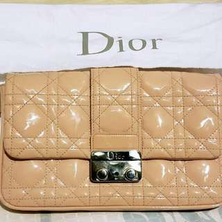 Miss Dior New Lock Pouch With Chain