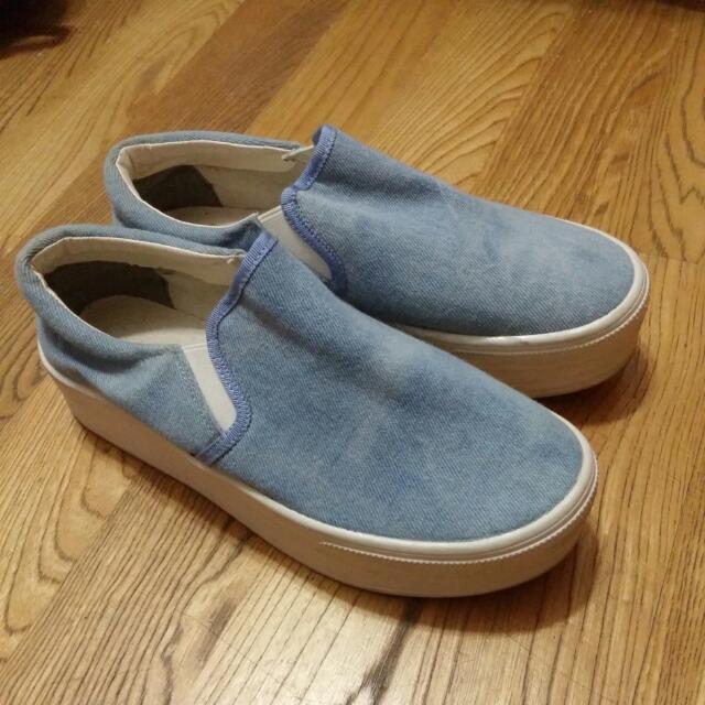 日本購入厚底懶人鞋