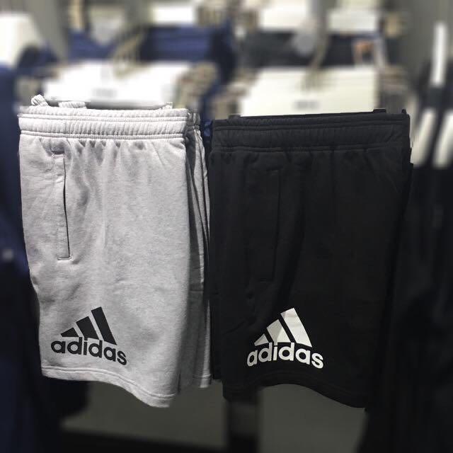 愛迪達 短棉褲