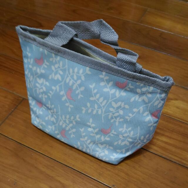 可愛藍色 保溫保冷小提袋 Cute Blue Cold Insulation Little Bag