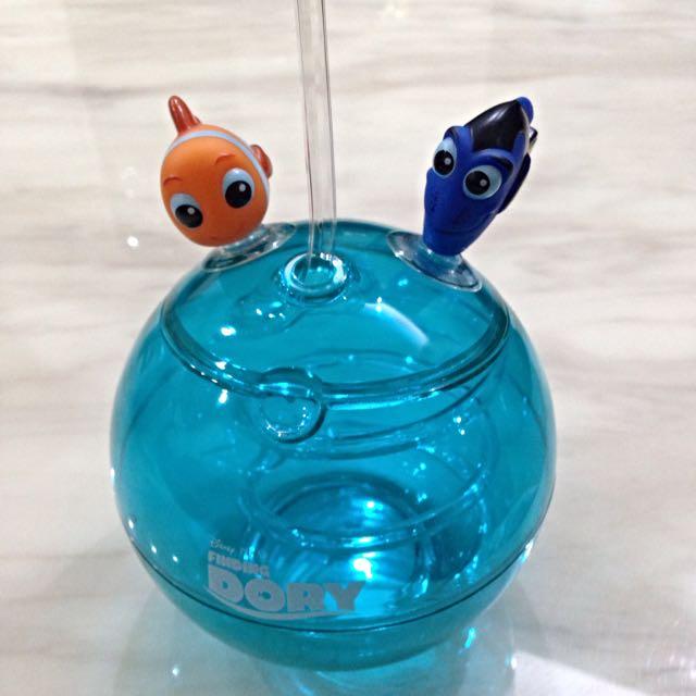 待匯)海底總動員 多莉 尼莫 魚缸杯 水晶杯 多莉去哪兒