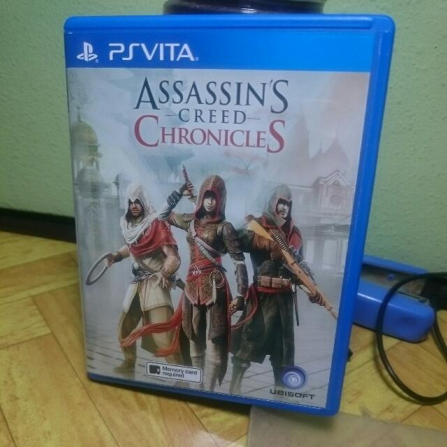 Assassin S Creed Chronicles Ps Vita Reduced Toys Games On