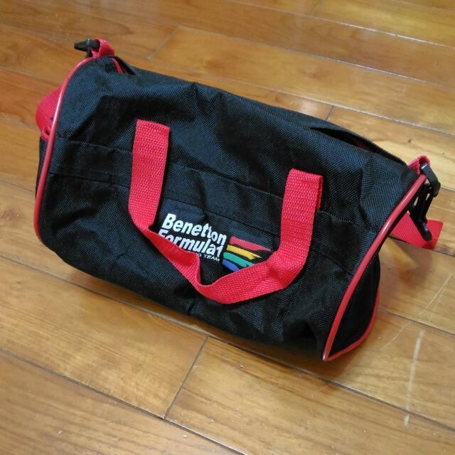 Benetton Formula 1 圓桶狀手提包 Cylindrical handbag