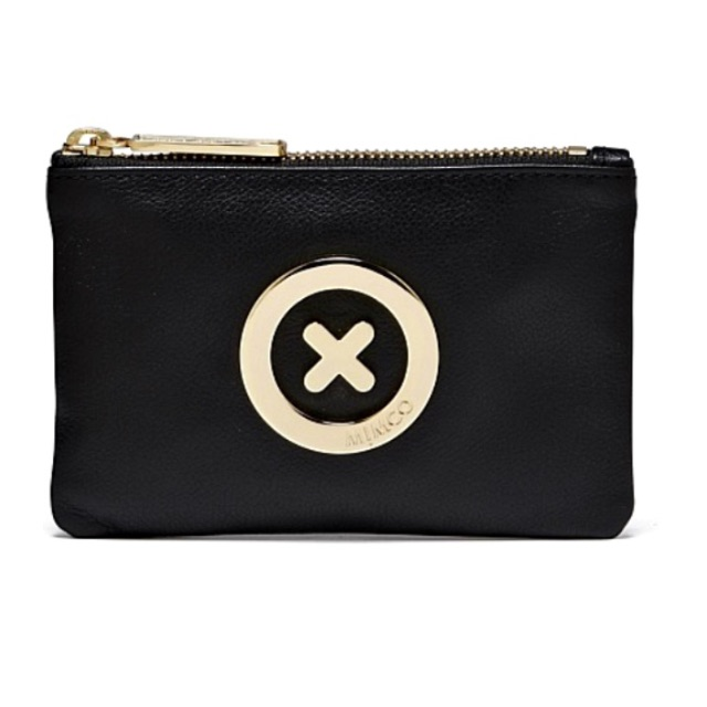 BRAND NEW BLACK MIMCO SUPERSONICA POUCH