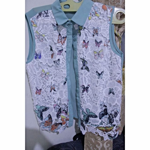 Butterfly Lacey Top