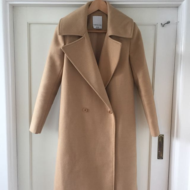 Cameo Collective Camel Coat