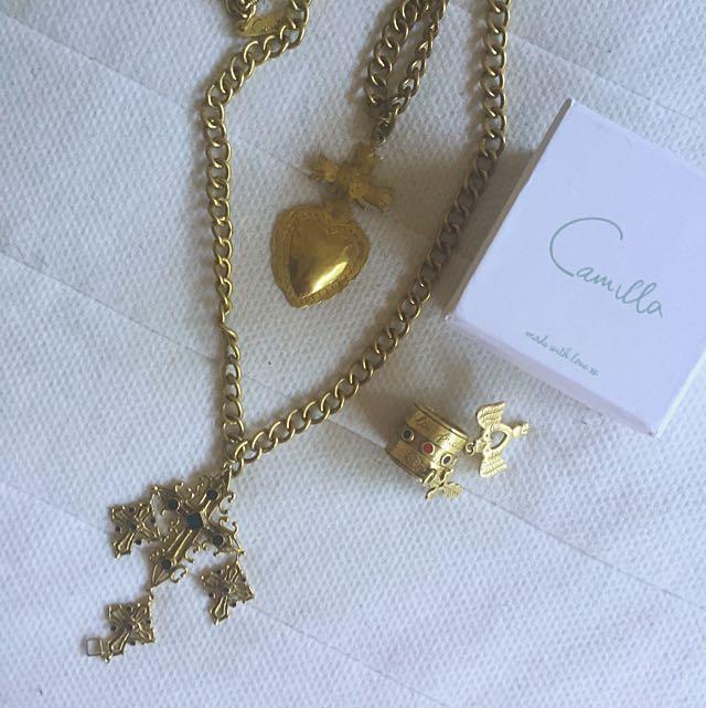 Camilla Necklace & Ring Set