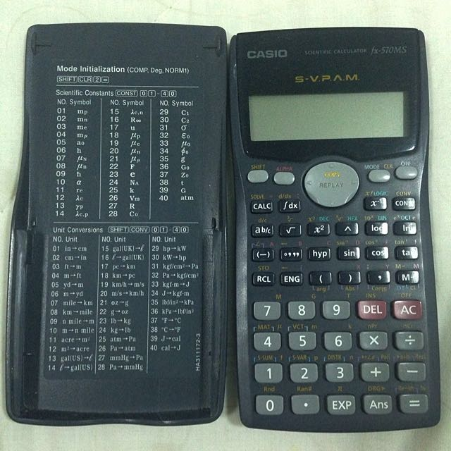 Casio Calculator (570MS)