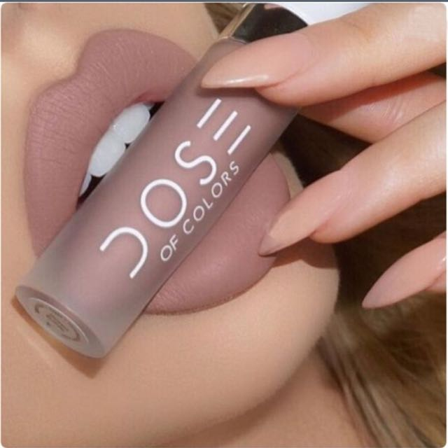 DOSE OF COLORS matte Lipstick