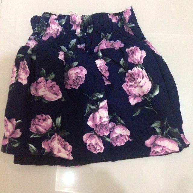Flower Embodry Skirt