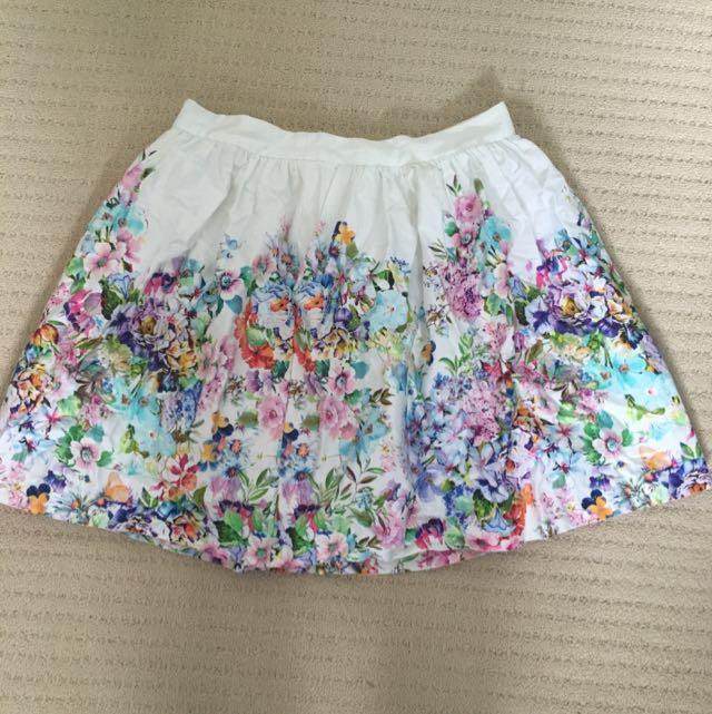 Forever New High waisted Skirt