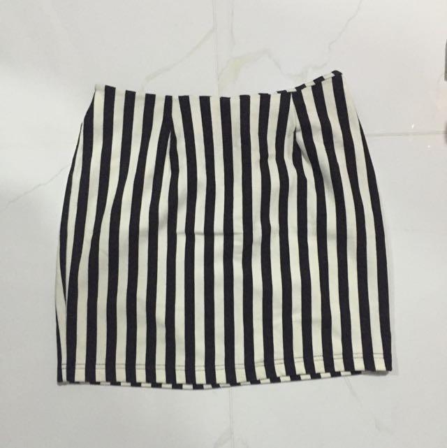 Gaudi Stripes Skirt