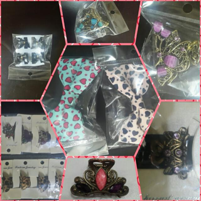 hair accesories : sossy,vintage clips, cute ponytails