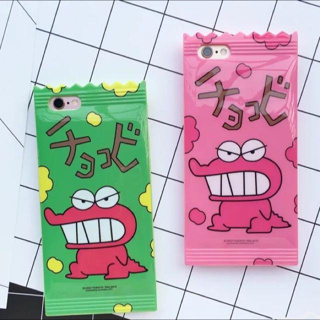 鱷魚餅乾造型手機殼iphone6/6s