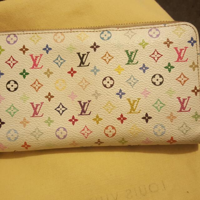 Louis Vuitton Multi Coloured Wallet