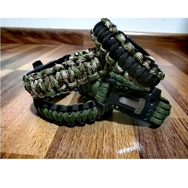72fceac6dbf9 Military Army Camouflage paracord bracelet 4 in 1 (In stock) Army ...
