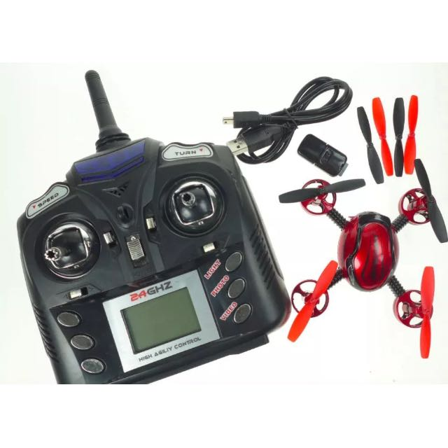 Mini Quadcopter With Built In Camera