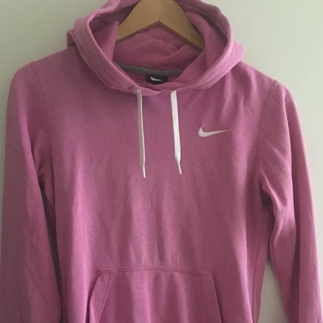 Nike Raspberry Hoodie XS